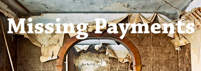 Missing Payments